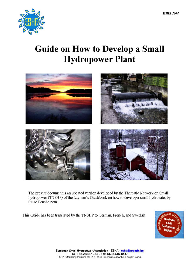 How To Develop A Small Hydropower Site