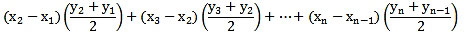 SUMPRODUCT Function Trapezoidal Rule