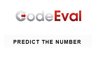 CodeEval 1 Predict The Number