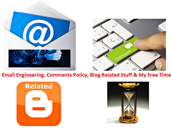 Email Engineering Comments Policy Blog Related Stuff My Free Time