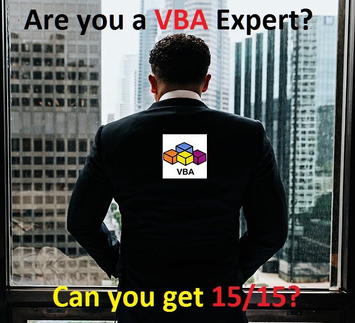 VBA Expert New